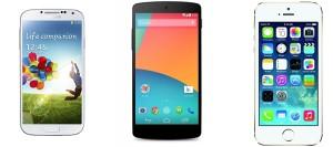 Die besten LTE Smartphones 2013